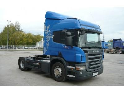 Поступление Scania P