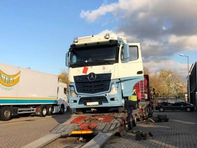 Поступление Mercedes Actros MP4